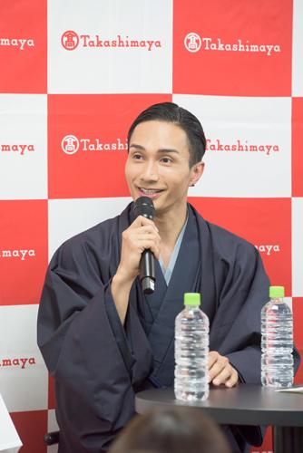 3.橘ケンチ「日本酒まつり」