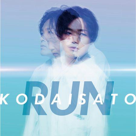 「RUN」ジャケ写