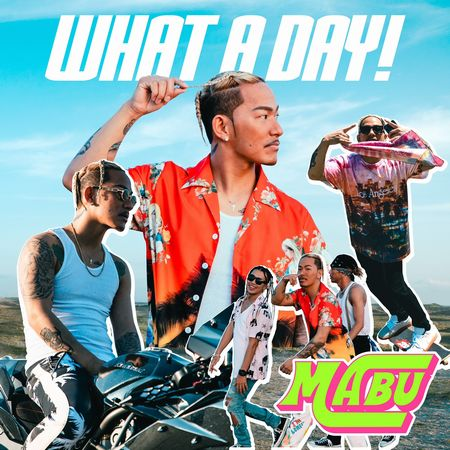 「WHAT A DAY!」ジャケ写
