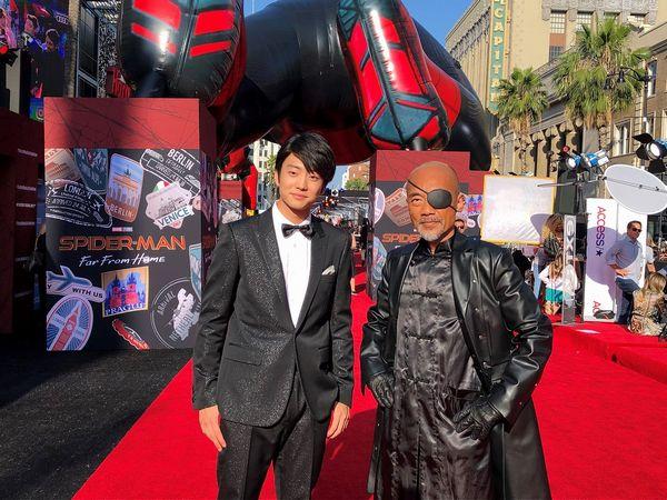 『スパイダーマン:FFH』ワールドプレミアオフィシャル画像_サブA