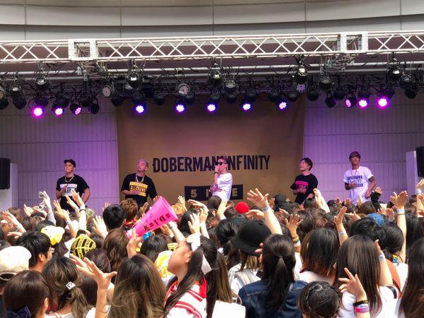 1.DOBERMAN INFINITYリリースイベント