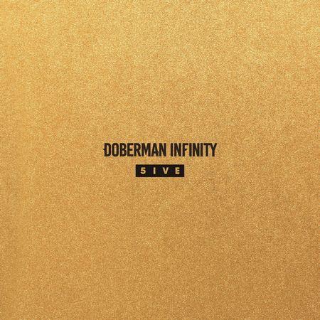 DOBERMAN INFINITY「5IVE」通常版ジャケ写