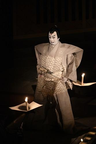 『伽羅先代萩』仁木弾正=松本幸四郎
