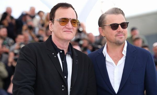 "CANNES, FRANCE - MAY 22: Quentin Tarantino and Leonardo DiCaprio attends the photocall for ""Once Upon A Time In Hollywood"" during the 72nd annual Cannes Film Festival on May 22, 2019 in Cannes, France."