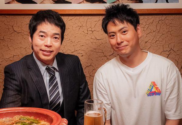 山下さん&今田さん2ショットメイキング写真1