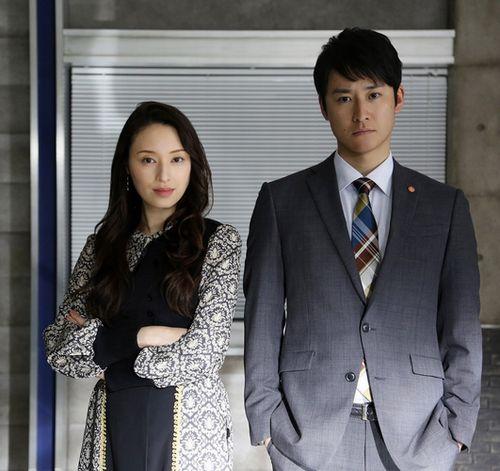 「サイレント・ヴォイス Season2」栗山千明・馬場徹2ショット