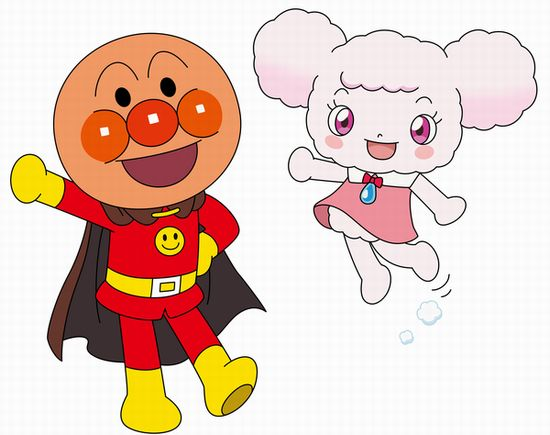 アンパンマン&フワリー_キャラクタービジュアル