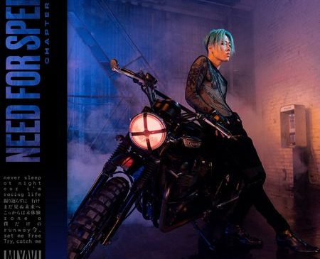 MIYAVI「Need for Speed」ジャケット写真