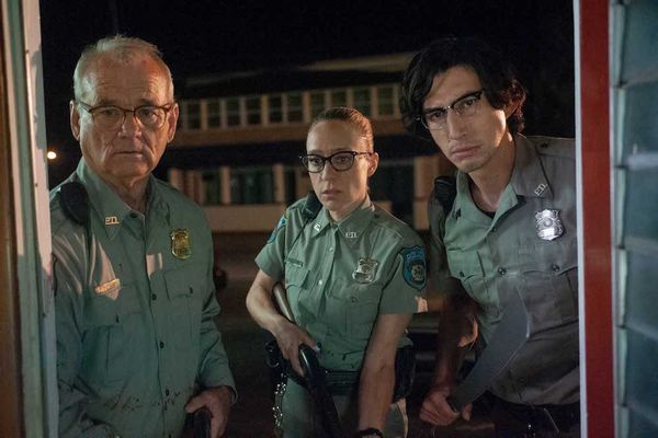 "(L to R) Bill Murray as ""Officer Cliff Robertson"", Chloë Sevigny as ""Officer Minerva Morrison"" and Adam Driver as ""Officer Ronald Peterson"" in writer/director Jim Jarmusch's THE DEAD DON'T DIE, a Focus Features release. Credit : Abbot Genser / Focus Features © 2019 Image Eleven Productions, Inc."