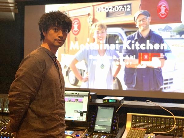 斎藤工さん『もったいないキッチン』アフレコ風景
