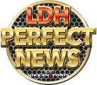 LDH PERFECT NEWS マーク