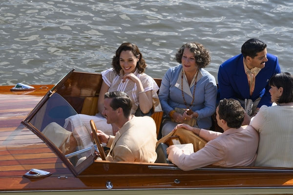 『ナイル殺人事件』_ボート遊覧を楽しむ