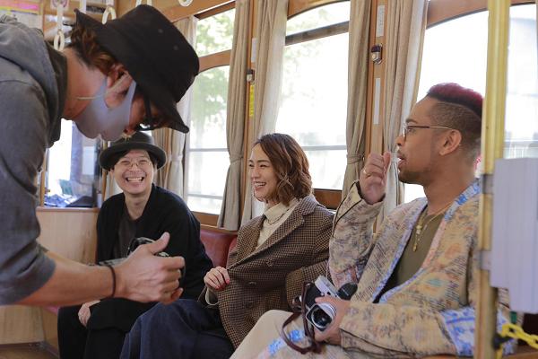 さるこうよ写真 熊本市電内 軽