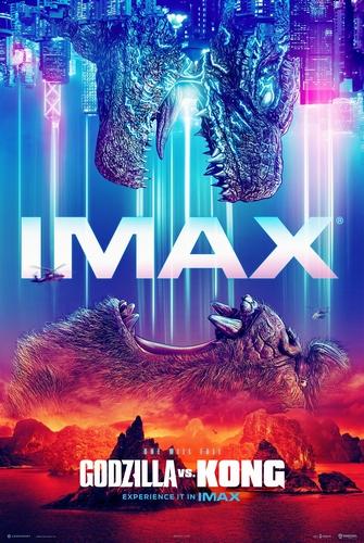 『ゴジラvsコング』日本版IMAXポスタービジュアル