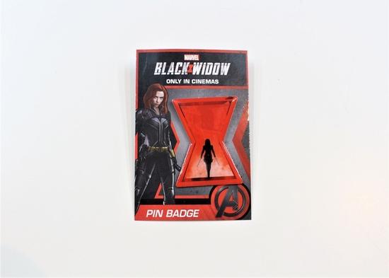 『ブラック・ウィドウ』ピンバッジ