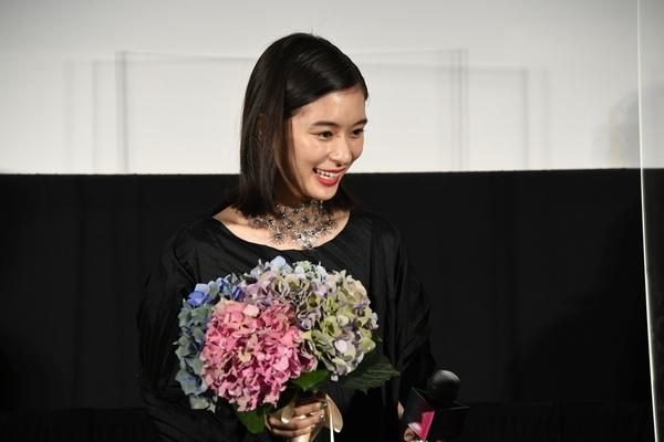 『Arc アーク』初日舞台挨拶_芳根京子_AAA1182