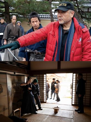 ※修正【9月14日(火)17時解禁】『燃えよ剣』メイキング写真
