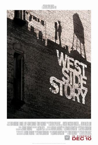 ★『ウエスト・サイド・ストーリー』US版新ポスター