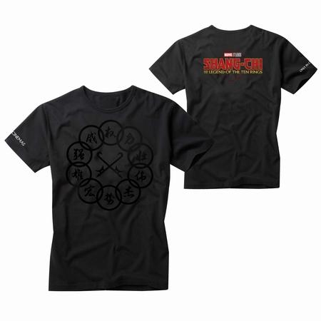 『シャン・チー/テン・リングスの伝説』オリジナルTシャツ画像