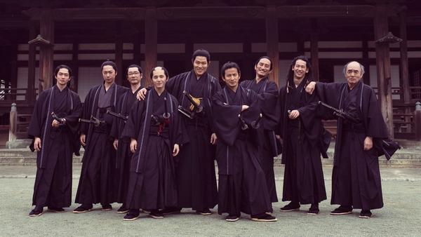 【10月11日(月)午前10時解禁】『燃えよ剣』新選組集合オフショット