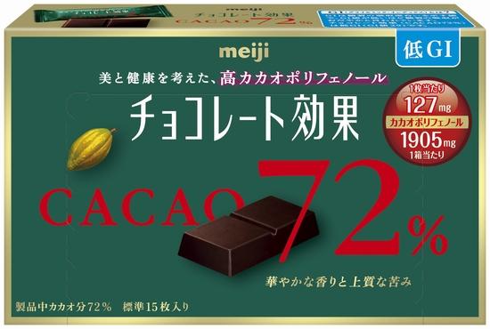 チョコレート効果箱カカオ72