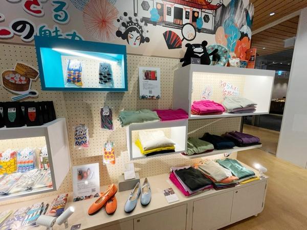 台北市観伝局が招致した台湾ブランドと共同で台北の土産品やクリエイティブグッズをPR01