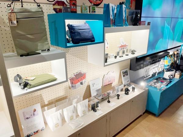台北市観伝局が招致した台湾ブランドと共同で台北の土産品やクリエイティブグッズをPR02